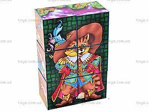 Кубики «Герои сказок», 0175, игрушки