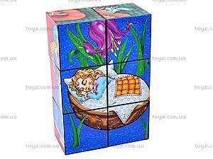 Кубики «Герои сказок», 0175, детские игрушки
