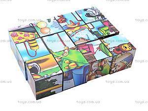 Кубики и пазлы «Мультфильмы», 2582, фото