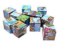 Кубики и пазлы «Мультфильмы», 2582, купить