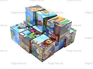 Кубики и пазлы «Мультфильмы», 2582, цена