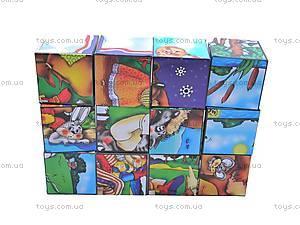 Кубики и пазлы «Сказки», 2575