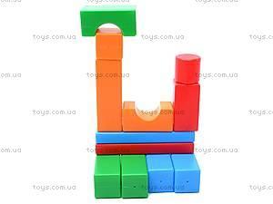 Кубики-конструктор «Строитель», 511, купить