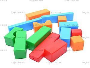 Кубики-конструктор «Строитель», 511, отзывы