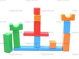 Кубики-конструктор «Строитель», 511