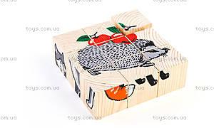 Кубики «Лісові тварини», 4444-4