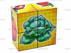 Кубики «Овощи», 1349, цена
