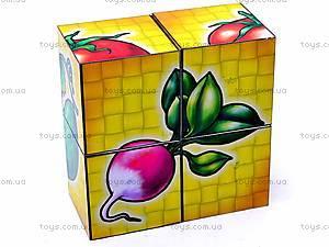 Кубики «Овощи», 1349, игрушки