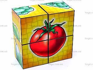 Кубики «Овощи», 1349, детские игрушки