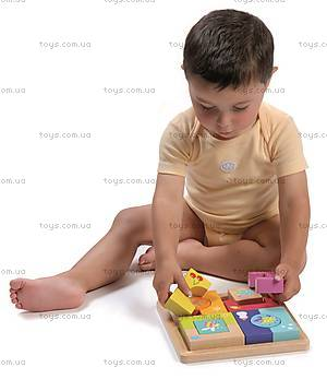 Кубики-пазлы «Времена года», 8501, купить