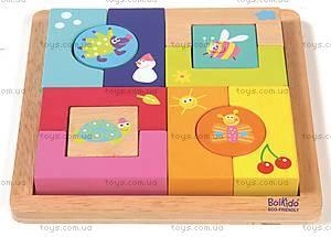 Кубики-пазлы «Времена года», 8501