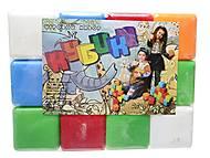 Кубики «Сити Лайф», 12 штук, 028