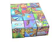 Кубики «Сказки Пушкина», 0281, игрушки