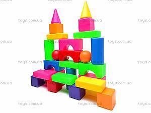 Кубики «Строитель №1», 0951, фото