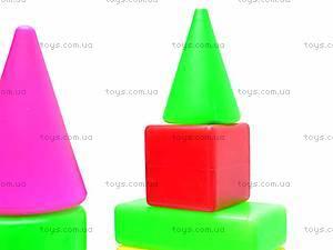 Кубики «Строитель», 095, фото