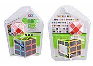 Кубик Рубика + логика-змейка, 2 вида, 8949B-381B-3