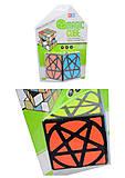 Головоломка кубик-логика с нестандартным рисунком, 8977-3, отзывы