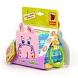 Кубик-подвеска «Бегемот Добряк», МС 110202-02, іграшки