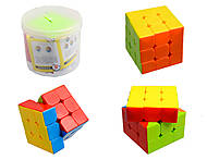 Игрушка кубик Рубика в банке, 666A