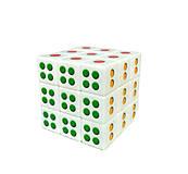 """Кубик Рубика """"Игральная кость"""", 3 х 3, SM781"""