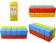 Детские кубики, 20 штук, 1-061