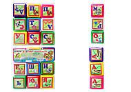 Маленькие кубики для детей «Азбука», 0281