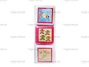 Детские кубики «Математика», 9 штук, 0282, фото
