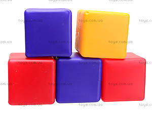 Кубики цветные, 12 штук, 111, детские игрушки