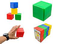 Кубики цветные, 4 цвета в наборе, Л-002-8, отзывы