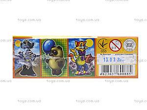 Кубики «Герои мультфильмов», 0885, магазин игрушек
