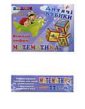 Пластиковые кубики «Математика», 12 штук, 313