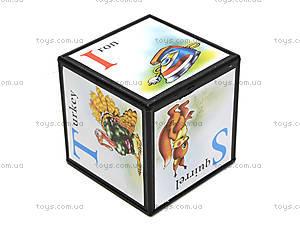 Детские кубики «Английская азбука», 1325, фото