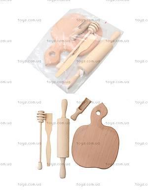 Набор деревянных игрушек «Хозяйка на кухне», К01215