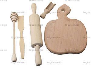 Набор деревянных игрушек «Хозяйка на кухне», К01215, цена