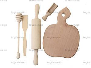 Набор деревянных игрушек «Хозяйка на кухне», К01215, игрушки