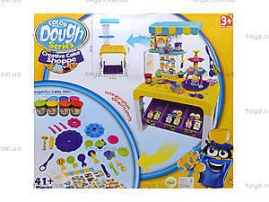 Детская кухня с пластилином и посудой, 8726, фото