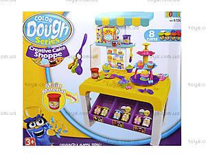 Детская кухня с пластилином и посудой, 8726, отзывы