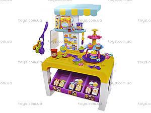 Детская кухня с пластилином и посудой, 8726, цена