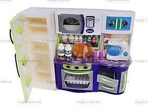 Кухня детская с холодильником, QF1083, отзывы