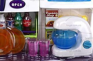 Кухня детская с холодильником, QF1083, игрушки