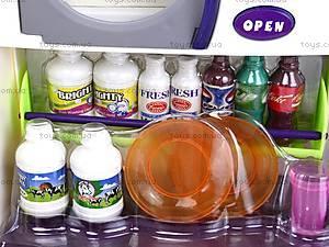 Кухня детская с холодильником, QF1083, детские игрушки