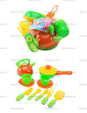 Игровой набор посуды «Кухня Ева», 04-432