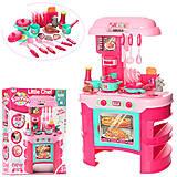 "Кухонный набор ""Новая кухня"" розовый звук свет, 008-908"