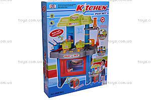 Кухня с микроволновкой и посудой, 008-26A