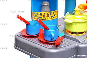 Кухня с микроволновкой и посудой, 008-26A, игрушки