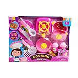 Кухня с плитой «Cooking» розовая детская, 9027-1
