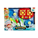 Кухня с плитой игрушечная «Cooking» красная, 9027, фото