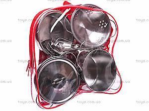 Кухонный металлический набор посуды, PY555-55, купить