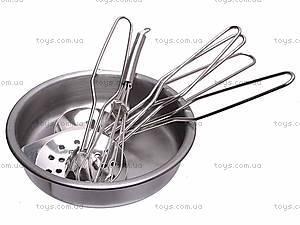 Кухонный металлический набор посуды, PY555-55, фото