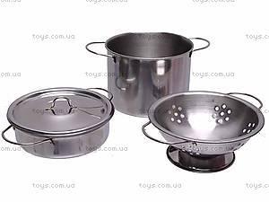 Кухонный металлический набор посуды, PY555-55, отзывы